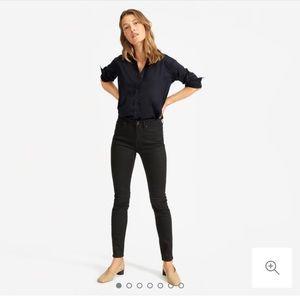 Everlane Mid Rise Skinny Jeans
